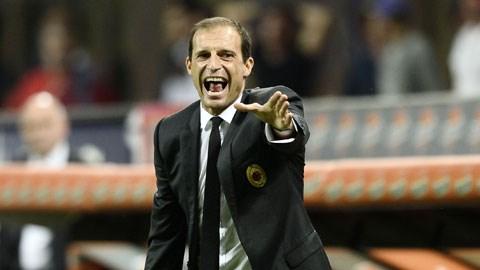 """Cái mác """"người của Milan"""" sẽ là bất lợi lớn với Allegri tại Juve"""