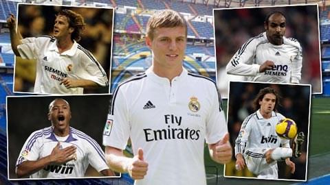 Kroos được kỳ vọng sẽ thành công hơn những tiền bối từng khoác áo số 8