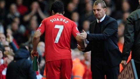 Rodgers đã chuẩn bị cho sự ra đi của Suarez