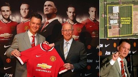 Van Gaal đang từng bước ghi dấu ấn tại Old Trafford