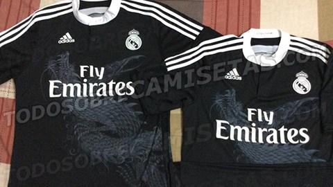 Áo đấu in hình rồng của Real Madrid gây được sự chú ý lớn từ NHM