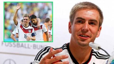 Philipp Lahm tuyên bố từ giã sự nghiệp thi đấu quốc tế khiến NHM hụt hẫng