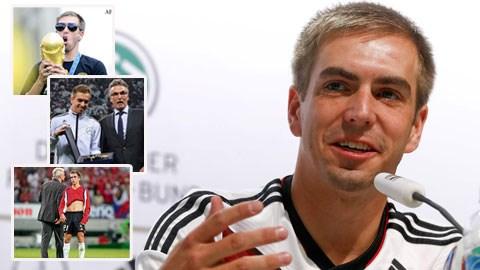 Lahm chia tay sự nghiệp quốc tế sớm là thiệt thòi của ĐT Đức
