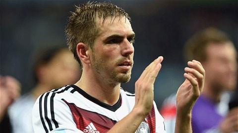 Lahm sẽ dành thời gian còn lại cho câu lạc bộ Bayern Munich