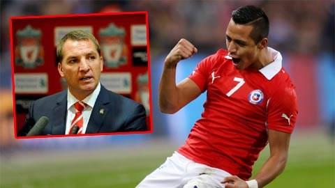 HLV Rodgers tiết lộ lý do Alexis Sanchez từ chối Liverpool