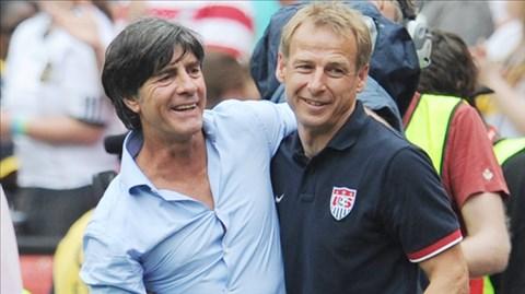 Klinsmann (phải) và Loew, những con người đã gầy dựng nên ĐT Đức bách chiến bách thắng