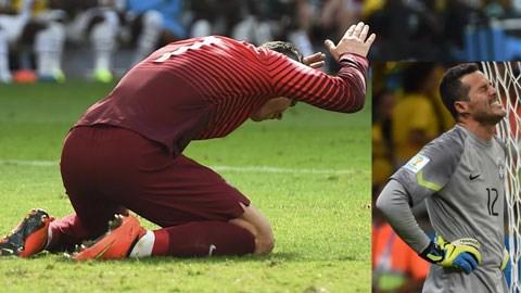 Sự đơn độc giữa các đồng đội kém cỏi trong trường hợp của Ronaldo, và chỉ được hỗ trợ bằng hàng thủ vô dụng, trong trường hợp của Julio Cesar, đã biến