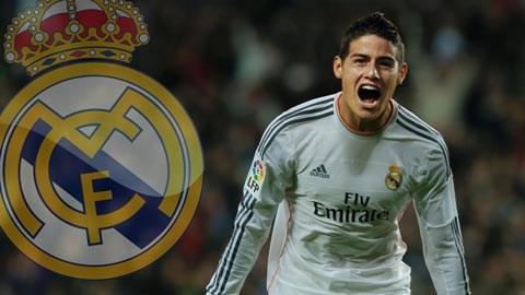 Rodriguez sắp là người của Real
