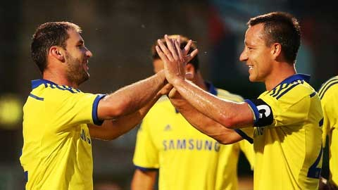 Liga Inggris  - Skor Akhir AFC Wimbledon vs Chelsea, John Terry Selamatkan Muka Chelsea