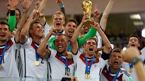 Lahm đội trưởng ĐT Đức đóng công lớn cho chức vô địch World Cup 2014