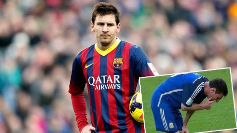 Messi dường như đã đạt đến giới hạn