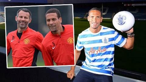 Rio Ferdinand vẫn sẽ là số 1 tại Old Trafford nếu Giggs được làm HLV trưởng M.U
