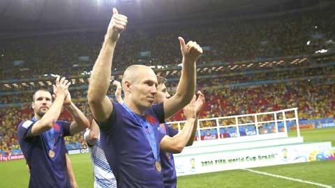 Robben vừa có màn tỏa sáng rực rỡ tại World Cup 2014