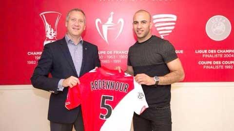 Hậu vệ Aymen Abdennour là bản hợp đồng duy nhất của Monaco cho đến lúc này trong mùa chuyển nhượng Hè 2014