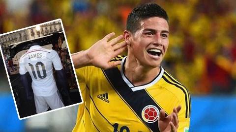 James Rodriguez sẽ khoác áo số 10 tại Real?
