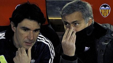 Karanka và Mourinho thời còn sát cánh bên nhau