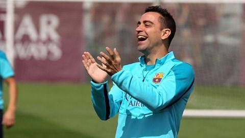 Xavi đang chuẩn bị lên đường sang Mỹ