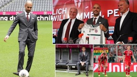 Bayern trở nên hoàn toàn khác sau 1 năm Guardiola tại vị