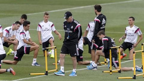 HLV Ancelotti triệu tập 9 cầu thủ trẻ lên đường sang Mỹ