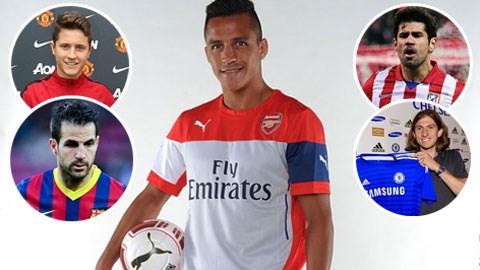Những gương mặt tân binh đáng chú ý tại Premier League mùa trước