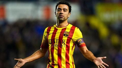 Xavi chấm dứt 11 năm chơi bóng cho Barca