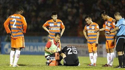 Cách đây 3 tháng, một nhóm cầu thủ V.Ninh Bình tham gia dàn xếp tỷ số gây chấn động dư luận