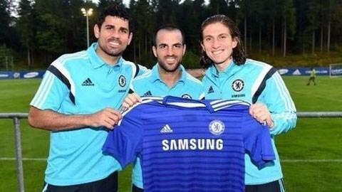Diego Costa - Fabregas - Luis là 3 tân binh của Chelsea trong Hè 2014