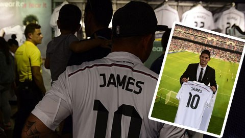 Một bộ phận không nhỏ CĐV phản đối việc Real chiêu mộ James Rodriguez
