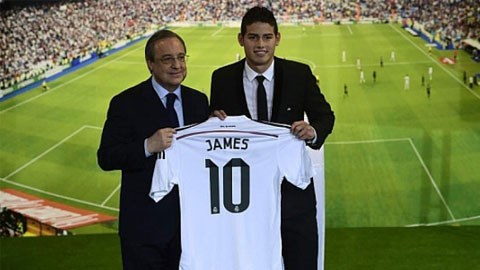 James Rodriguez chính thức là người của Real