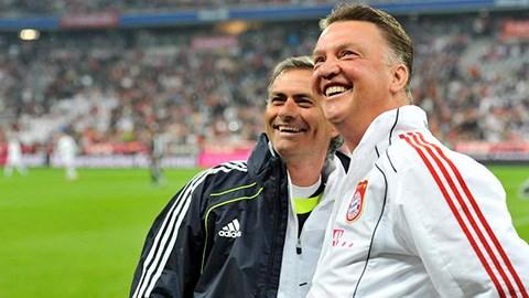 Mourinho luôn biết ơn ân sư Van Gaal