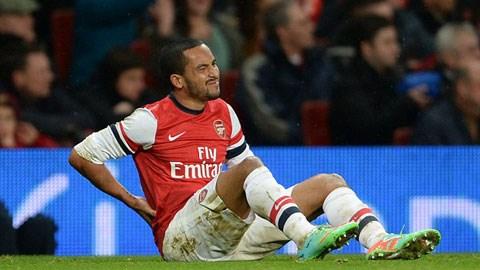 Walcott sẽ không cùng Arsenal sang Mỹ du đấu