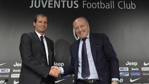 HLV Massimiliano Allegri sẽ có màn ra mắt ở Juventus