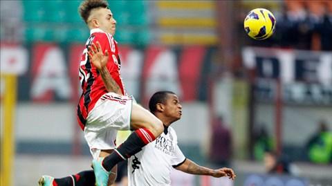 Quá khó để Milan (trái) đánh bại Olympiakos khi thiếu vắng nhiều trụ cột