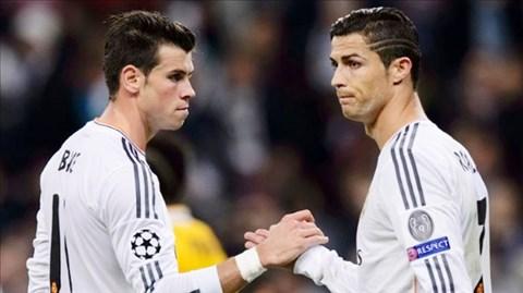 Bale và Ronaldo góp phần giúp Real làm nên hàng công 360 triệu eurro