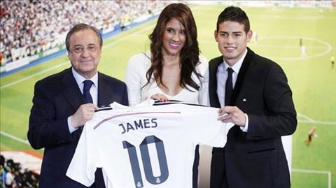 James Rodriguez mang hy vọng tái sinh vai trò của những số 10 ở Bernabeu