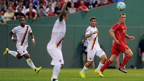 Lambert đã không thể giúp Liverpool thoát thua