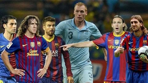 Phải rất vất vả, Barca mới chiêu mộ được một trung vệ