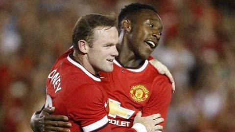 Rooney và Welbeck đều lập công cho M.U