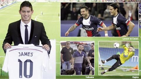 Sau James và Valbuena, có thể một loạt ngôi sao khác cũng sắp rời Ligue 1 Hè này