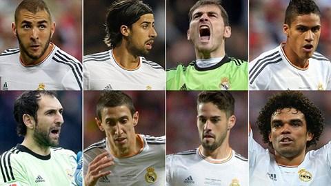 Nhiều cầu thủ có nguy cơ rời Real sau khi James Rodriguez đến