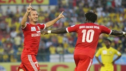 B.Bình Dương quyết tâm giành ngôi vô địch V-League 2014.