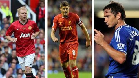 3 tiền vệ xuất sắc nhất bóng đá Anh trong 2 thập kỷ qua
