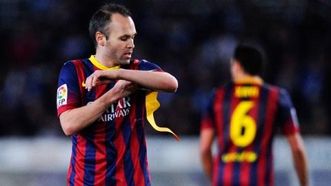 Iniesta sẽ là đội trưởng mới tại sân Nou Camp