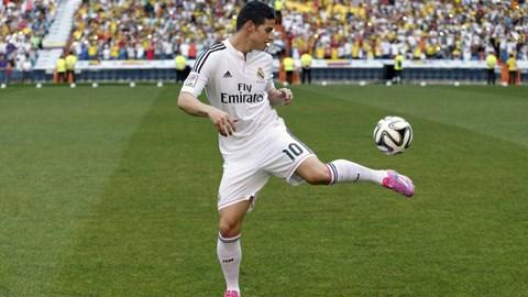 James Rodriguez ra mắt ở Real Madrid