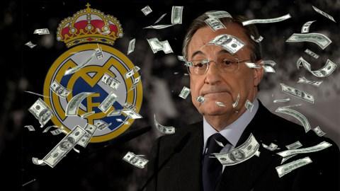 Real Madrid đang phải gánh một khoản nợ khổng lồ