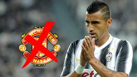 Vidal nói không với cơ hội đến M.U