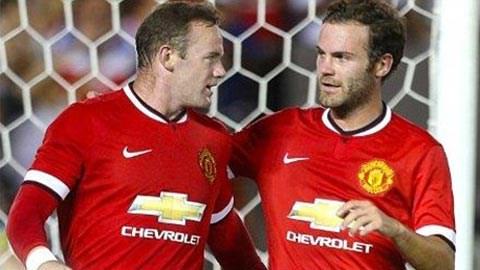 M.U chơi ấn tượng trong trận ra mắt của Van Gaal