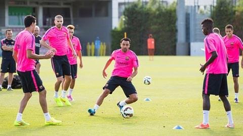 Xavi là biểu tượng của Barca