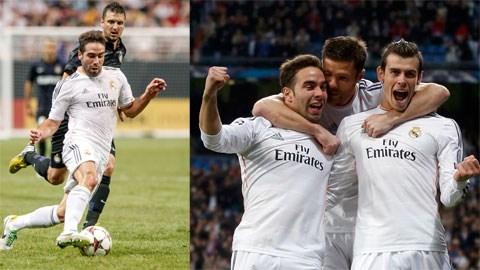Carvajal (áo trắng) và đồng đội sẽ có chiến thắng trước Inter?