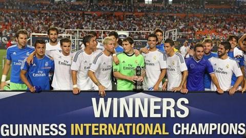 Tại International Champions Cup 2013, Real đã lên ngôi